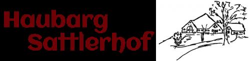 Logo Haubarg Sattlerhof in St. Peter-Ording